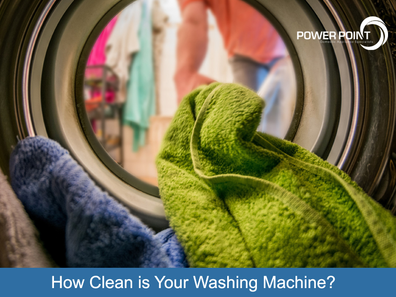 How Clean is Your Washing Machine?