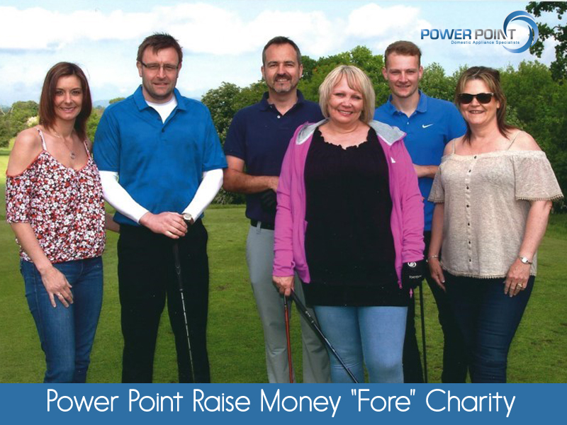 "Powerpoint Raise Money ""Fore"" Charity!"