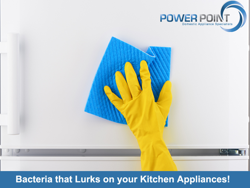 Bacteria that Lurks on your Kitchen Appliances!