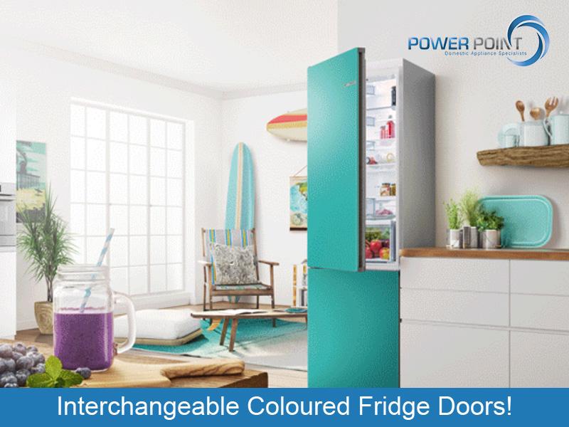 Interchangeable Coloured Fridge Doors!