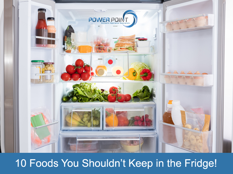 10 Foods You Shouldn't Keep in the Fridge!