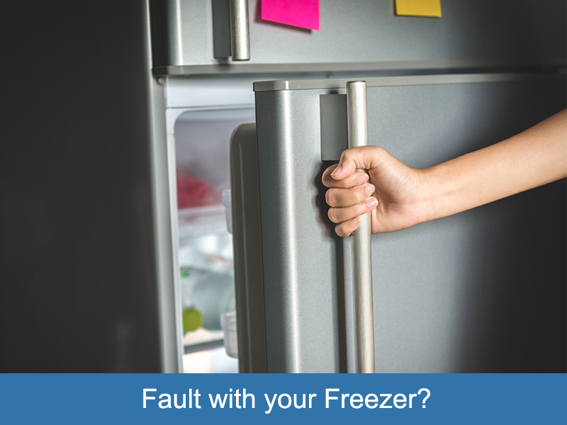 Fault with your Freezer?